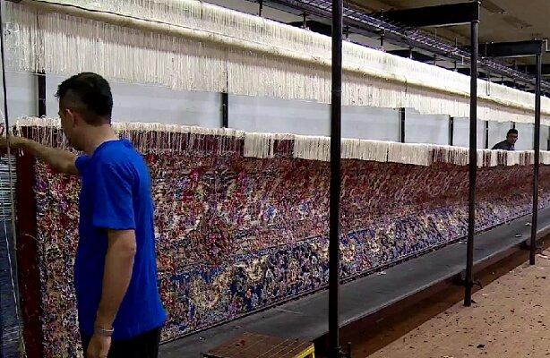 Photo of В Тебризе соткали 600-метровый ковер