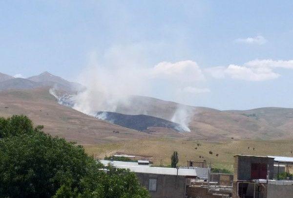 Photo of Həmədanda otluq ərazi kül oldu