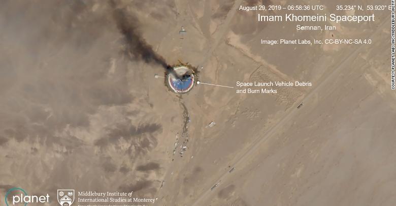Photo of İranda Xomeyninin adını daşıyan kosmodromda raket partladı