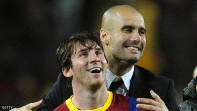 """Photo of غوارديولا يتغزل بميسي ويحذر برشلونة من """"اللحظة الصعبة"""""""