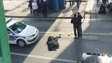 Photo of В Иране девушка бросилась с моста