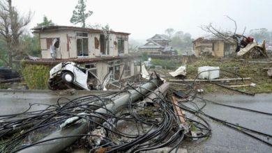 Photo of Yaponiyada baş verən dağıdıcı fırtınada 35 nəfər həyatını itirib, hadisə yerində 110 min xilasedici işləyir