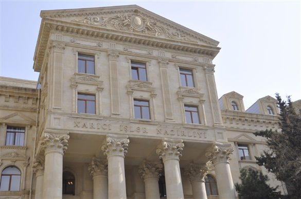 Photo of МИД Азербайджана вручил ноту протеста послу Франции