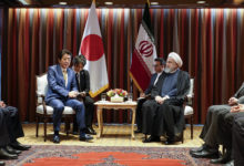 "Photo of سفر مشاور نخستوزیر ژاپن به تهران برای پیگیری پیشنهادات ""آبه"""