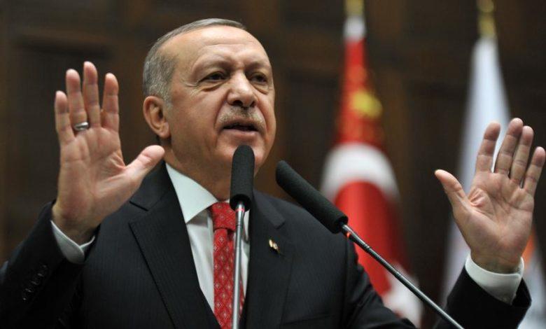 Photo of أردوغان للمنددين بنبع السلام: تركيا تنقذ العرب المهجّرين من الإرهاب بسوريا