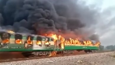 Photo of Pakistanda qatarın yanması nəticəsində 73 nəfər həlak olub – VİDEO