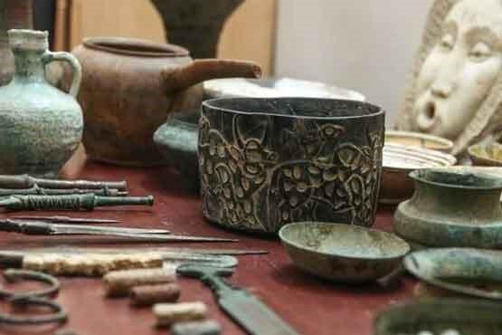 Photo of Sulduzda antik dövr tacirlərindən bir sıra tarixi əşya aşkarlanıb
