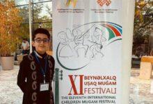 Photo of Parsa Xaef Beynəlxalq uşaq Muğam Musiqi Festivalının özəl qalibi oldu