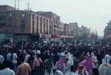 Photo of إحتجاجات في الأحواز على خلفية ارتفاع أسعار البنزين(فيديو)