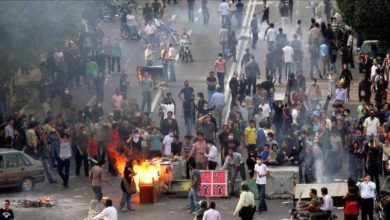 Photo of اتساع رقعة المظاهرات في إيران ومقتل متظاهر(فيديو)