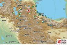 Photo of زلزال بقوة 5.9 درجات يضرب إقلیم أذربیجان الجنوبیة