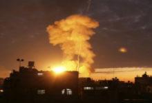 Photo of قصف إسرائيلي يستهدف منزل قيادي فلسطيني في دمشق