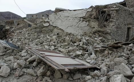 Photo of Не менее 6 человек погибли в результате мощного землетрясения в Иране