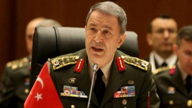 Photo of وزیر دفاع ترکیه: کشته شدن ۱٢۰۰ تروریست از آغاز عملیات چشمه صلح