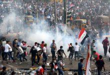 Photo of В Ираке против протестующих применили иранские газовые гранаты