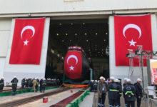Photo of اولین زیردریایی بومی ترکیه به آب انداخته شد