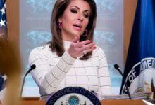"Photo of الخارجية الأميركية: ""النظام الإيراني يأول استراتيجيتنا على أنها ضعف"""