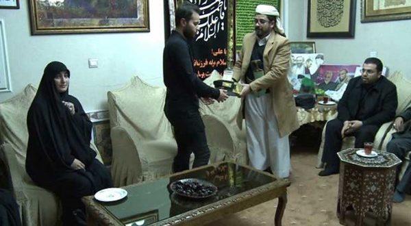 Photo of سفير الحوثي لدى طهران يزور عائلة قاسم سليماني
