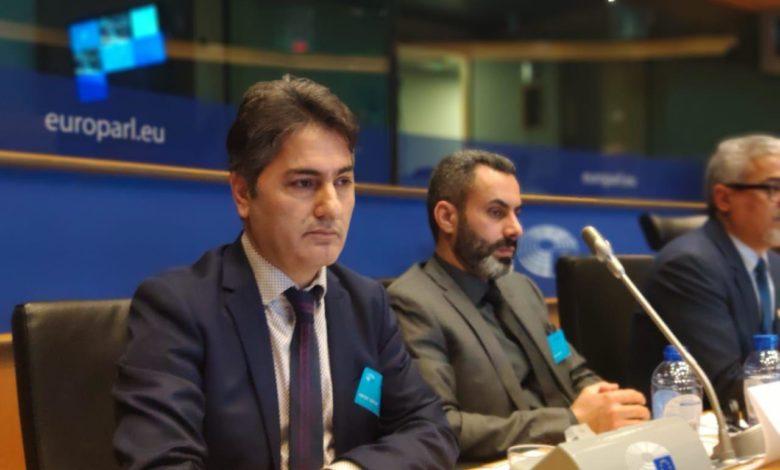 Photo of وفد أذربيجان يشارك في مؤتمر حركة النضال في بروكسل