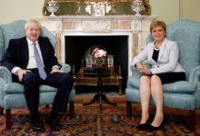 Photo of جانسون با همه پرسی برای استقلال اسکاتلند مخالفت کرد