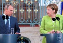 Photo of آغاز مذاکرات مرکل و پوتین در کاخ کرملین