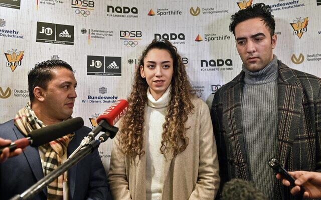 Photo of After defecting, Iran's only female Olympic medalist seeks new life in Germany