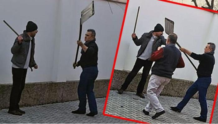 """Photo of Almaniyada azərbaycanlı məscidə hücum etdi: """"Bura iblislərin yuvasıdır"""""""