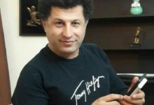 Photo of Alireza Farshi, an Azerbaijani Turk civil activist, was arrested in Tehran.