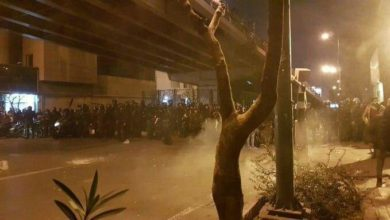 Photo of Fury in the streets as thousands gather in Tehran.