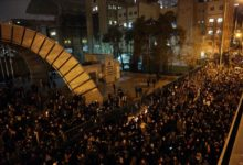 Photo of Hundreds protest against regime in Tehran after Iran admits it shot down plane