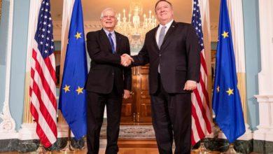 Photo of دیدار و گفتوگوی «مایک پمپئو» و «جوزپ بورل» درباره ایران و طرح صلح خاورمیانه