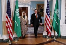 Photo of دیدار وزیران امور خارجه آمریکا و عربستان در واشنگتن