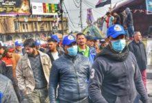 Photo of اعتراضات عراق  درگیریها میان معترضان مردمی و کلاه آبیهای طرفدار مقتدی صدر
