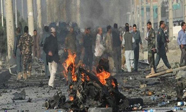 Photo of ۵ کشته و ۱۵ زخمی در انفجار انتحاری مقابل دانشگاه «مارشال فهیم» در کابل