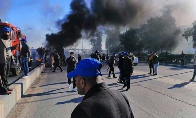 Photo of حمله هواداران «مقتدى صدر» به اعتراضات مردمی در عراق/ ۱٢ زخمی در نجف