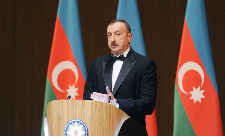 Photo of Ilham Aliyev congratulates his Estonian counterpart