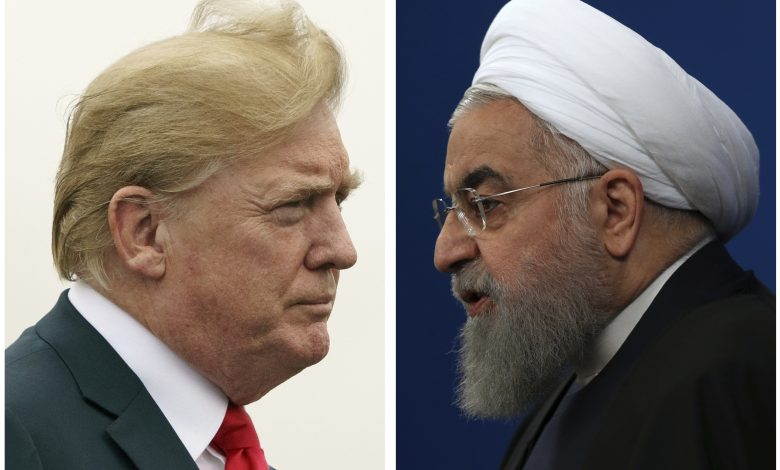 Photo of Rouhani`s interesting resemblance of US sanctions