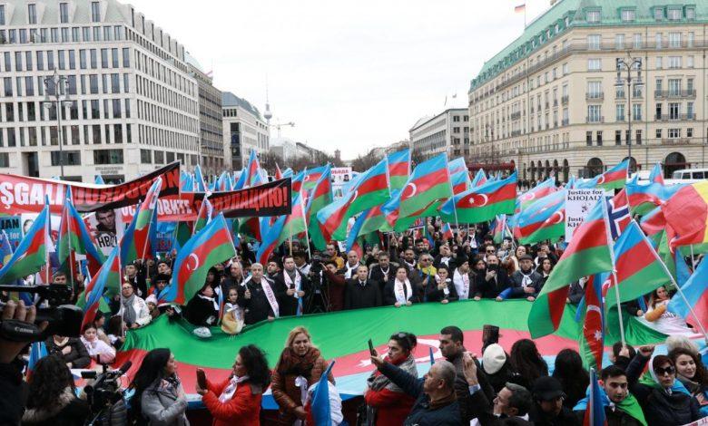Photo of All-European Karabakh rally begins in Germany