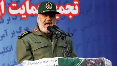 Photo of Iranian commander: We're ready to strike the US and Israel