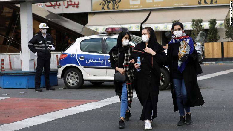 Photo of Iran's coronavirus death toll rises to 2640