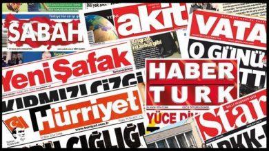 Photo of مطبوعات ترکیه، 30 مارس 2020
