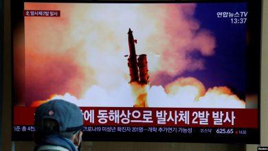 Photo of کره شمالی دو موشک کوتاه برد پرتاب کرد