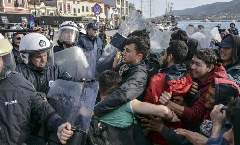 Photo of Turkey claims migrant killed in Greek border clash
