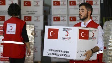 Photo of کمکهای پزشکی ترکیه به ایران منتقل شد