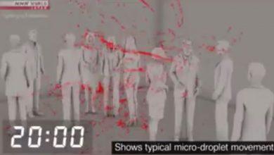 Photo of Yapon alimlərdən virusun hava ilə yayıldığını sübut edən – Video