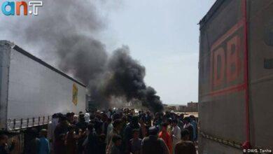 Photo of حمله به کامیون ایرانی در افغانستان پس از حادثه هریرود