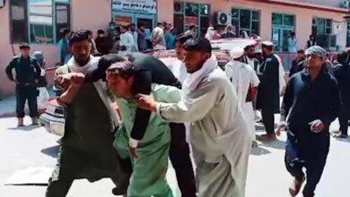 Photo of حمله انتحاری در مراسم خاکسپاری در افغانستان؛ ۲۴ نفر کشته و ۶۸ نفر زخمی