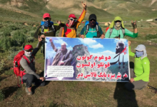 Photo of Tabriz mountaineers: For us, every place is a babek fortress
