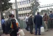 Photo of PROTEST AGAINST LACK OF DRINKING IN BILASUVAR