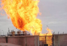 Photo of Fire at a nuclear plant in Iran